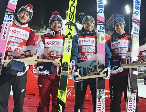 Polacy nokautują konkurencję w Klingenthal