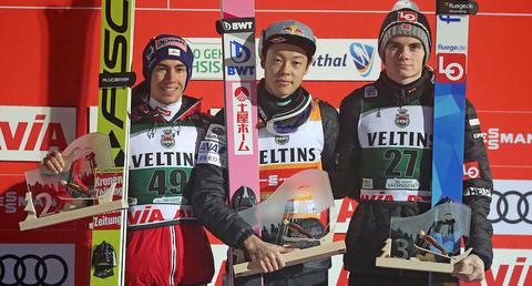 Ryoyu Kobayashi powraca na szczyt w Klingenthal
