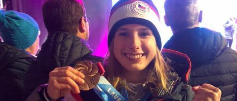 Medaile pro mě znamená velkou motivaci do budoucna, říká medailistka Štěpánka Ptáčková
