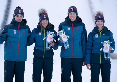 Österreichisches Mixed-Team holt Gold in Lausanne