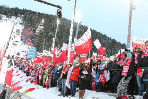 Skisprung-Weltcup in Zakopane: Der Hexenkessel