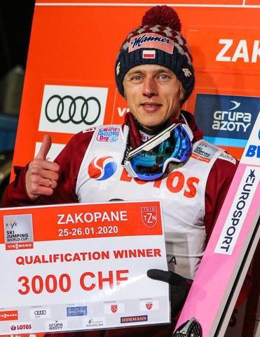 Dawid Kubacki gewinnt die Qualifikation in Zakopane