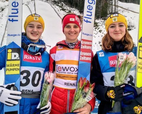 COC-W: Sophie Sorschag dominiert in Rena