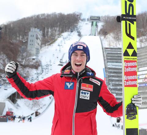 Stefan Kraft wygrywa niedzielny konkurs w Sapporo
