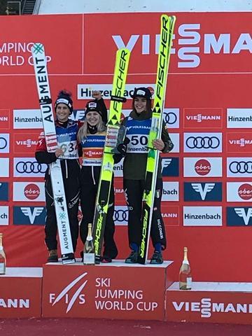 Skisprung-Weltcup der Damen: Hölzl gewinnt weiter