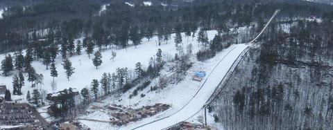 COC Skispringen in Iron Mountain live