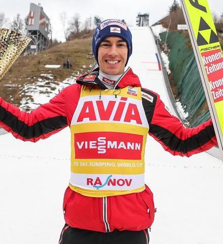 Skisprung-Weltcup: Stefan Kraft feiert in Rasnov 20. Weltcupsieg - Geiger und Schmid auf dem Podium