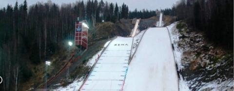 COC Skispringen in Rena live