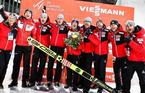 Skisprung-Weltcup in Lahti: Kraft vor Geiger