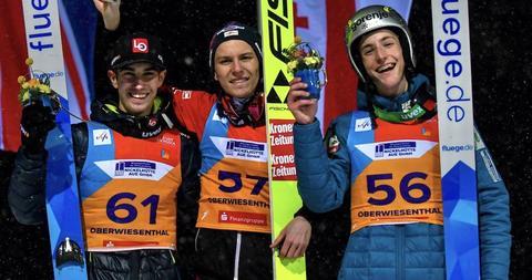 Peter Resinger und Marita Kramer neue Junioren-Weltmeister