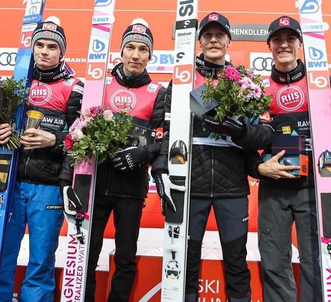 Team Norwegen gewinnt am Holmenkollen