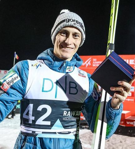 Peter Prevc wygrywa pierwszy konkurs w Lillehammer