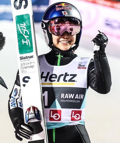 Zwycięstwo i setne podium Takanashi w Lillehammer