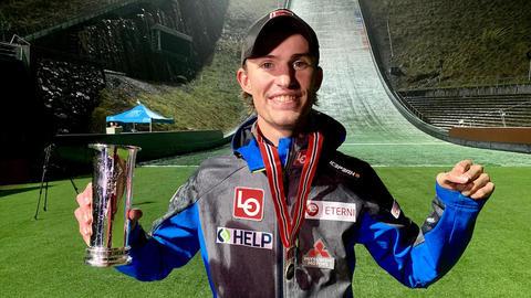Tande sikret Kongsbergs første kongepokal i hopp