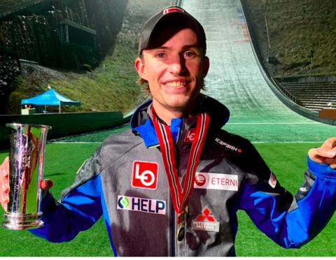 Tande und Opseth norwegische Skisprung-Meister