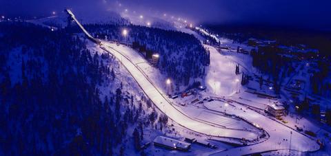 Skispringen Weltcup:  Zweite Station am Polarkreis