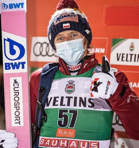 Dawid Kubacki gewinnt die Qualifikation in Ruka