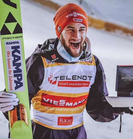 Zweiter Sieg im zweiten Springen für Markus Eisenbichler