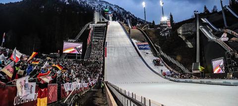 Vierschanzentournee: Keine Zuschauer in Oberstdorf