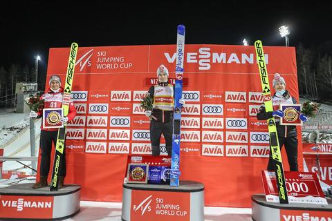 Norsk jubeldag i Russland: Granerud-seier og gul trøya - Johansson med bakkerekord og tredjeplass