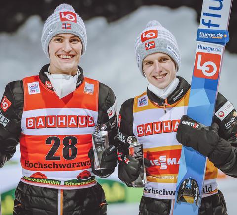Norwegischer Doppelsieg in Titisee-Neustadt