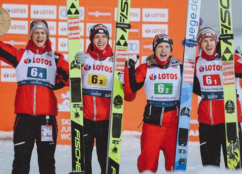 Team Österreich schlägt starke Polen - Deutschland nur 6.
