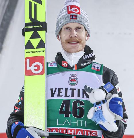 Sieg für Robert Johansson