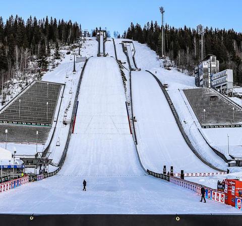 Skispringen Weltcup Lillehammer Damen - Absage