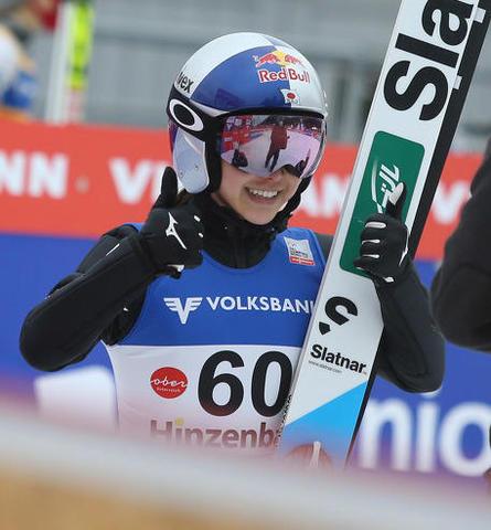 Zweiter Sieg von Sara Takanashi