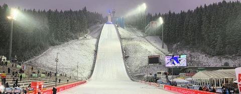 COC Skispringen in Klingenthal live