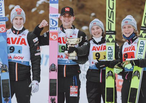 Norwegowie wygrywają konkurs mixed-team w Rasnovie