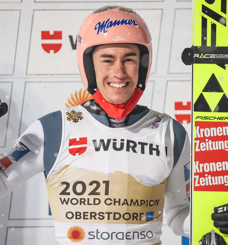 Stefan Kraft vergoldet seinen Winter