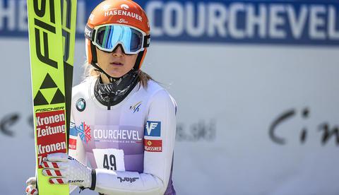 グランプリ女子クルシュヴェル予選クラマー1位、丸山2位、高梨3位