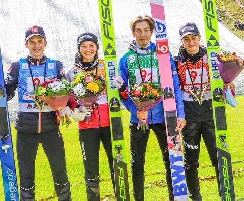 チャイコフスキー女子第2戦はアワクモワ、混合団体はノルウェーが勝利