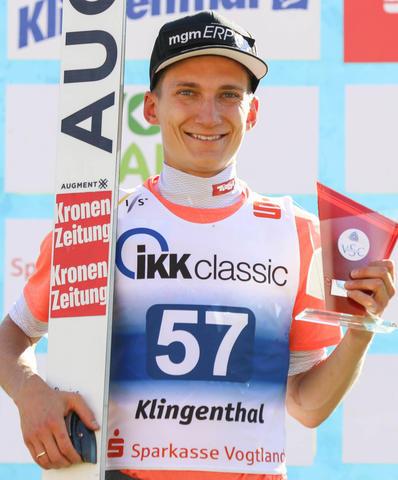 КК-M: Тимон-Паскаль Кахофер побеждает в Клингентале.