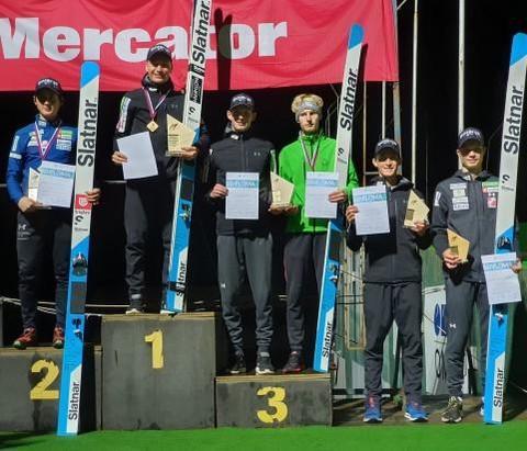 Ланишек и Крижнар выиграли чемпионат Словении
